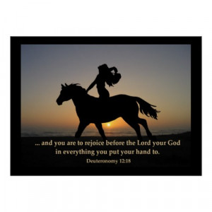 Christian Horse Quotes http://www.squidoo.com/christian-posters