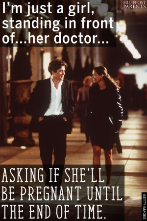 Classic Movie Quotes Reimagined By A Very Very Pregnant Lady