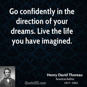Henry David Thoreau Life Quotes