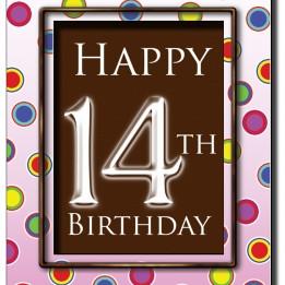 Happy 14th Birthday Chocola...