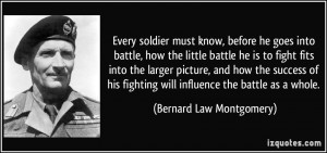 More Bernard Law Montgomery Quotes