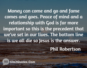Relationship Quotes - Phil Robertson