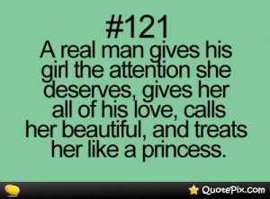 Real Man Gives His Girl The Attention..