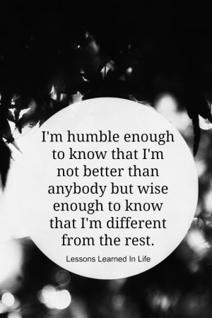Being Humble Quotes Life...