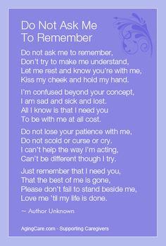 , Quotes For Caregiver, Health Care, Nur Quotes For Dementia, Patient ...