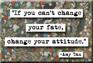 Amy Tan Quote Magnet or Pocket Mirror (no.188)