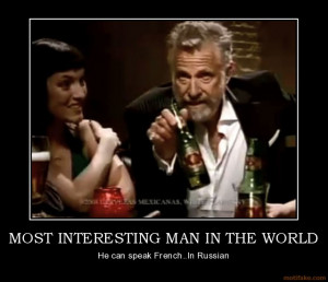 Wild Card: The Dos Equis Man