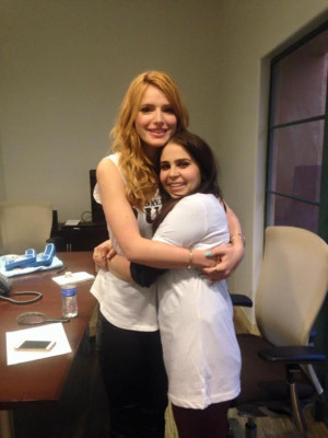 Bella Thorne & Mae Whitman Give Us a Behind-the-Scenes Look at Their ...