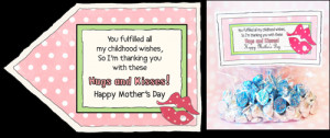 by either using candy sayings print out and blow his mother sayings ...