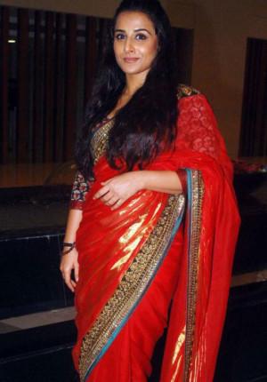 Vidya Balan Latest Still Saree