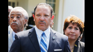 Marc Morial and Michelle Images