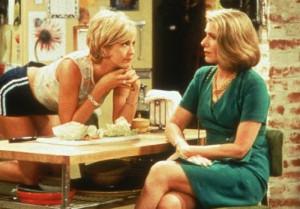 Still of Jenna Elfman and Susan Sullivan in Dharma & Greg (1997)