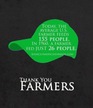 Thank You, Farmers!