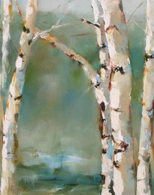 Birch Trees - Susie PryorArt Watercolors, Birches Trees, Diy Painting ...