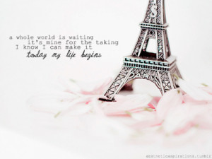 """aestheticaspirations:Song: """"Today My Life Begins"""" - Bruno ..."""