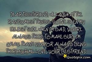 dear best friend please stay dear best friend quote