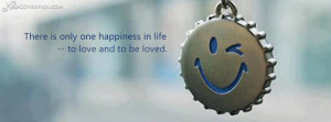 Happiness Facebook Profile Cover Photo