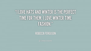 Love Cold Weather Quotes -i-love-hats-and-winter-is
