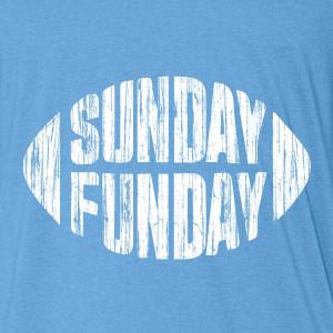 Sunday Funday Drinking Quotes Sunday funday blue t-shirt
