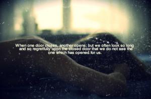 close, door, open, quote, text, words