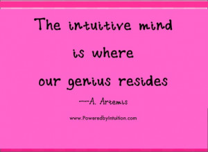 to Your Intuition Quotes|Human Instincts|Follow Your Instincts|Your ...