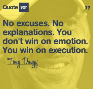 Quote by Tony Dungy...