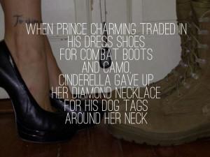 love my husband. My marine ️ his boots her heels