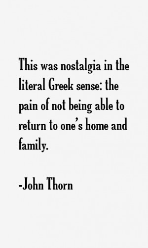 John Thorn Quotes & Sayings