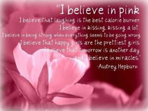 Breast cancer quotes, positive, inspiring, sayings, audrey hepburn