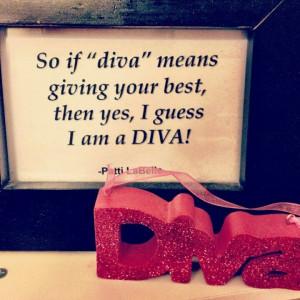 diva é alguém que é uma perfeccionista e que faz o seu melhor em ...