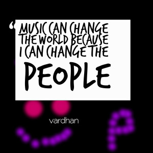 MUSIC CHANGING THE WORLD QUOTES