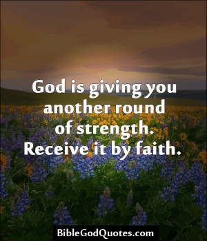 Believe In Your Strength Bible Quotes. QuotesGram