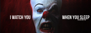 Watch You When You Sleep IT Clown Evil Clown Haunt Your Memories
