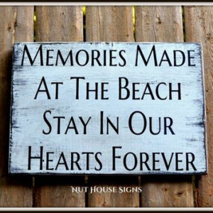 ... Life Memories Summer Vacation Love Quotes Sayings Beachy Gift Coastal