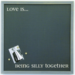 Love Is Quote Magnet Board 16