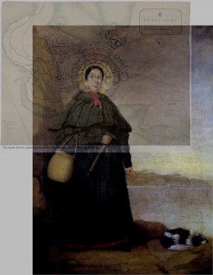 Mary Anning Quotes Posthumous painting of anning by b. j. donne from ...