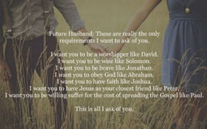 Home Quotes Dear Future Husband Quotes