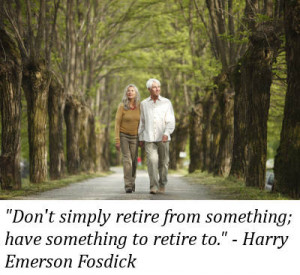 Congratulations on your retirement. May your new life be an adventure ...
