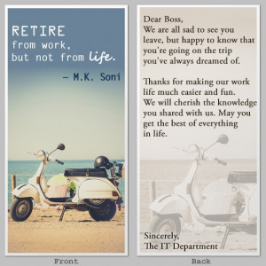 Happy Retirement Wishes for Your Boss