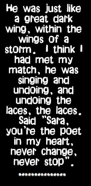 Fleetwood Mac - Sara - song lyrics, song quotes, songs, music lyrics ...