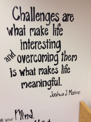 ... amazing quote for an amazing place. Teen Lounge, Wall Quotes, Amazing