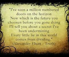 Alexander Ebert - Truth