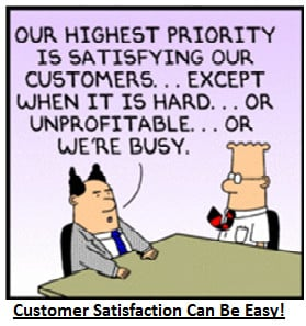 There are several benefits of the returning customers: