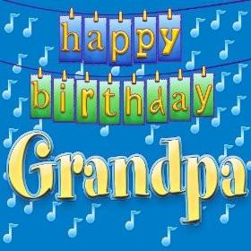 Happy Birthday Grandpa (Personalized)
