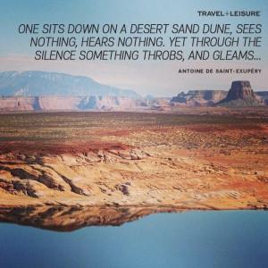... courtesy of T+L's peterjlindberg on Instagram from Lake Powell, AZ