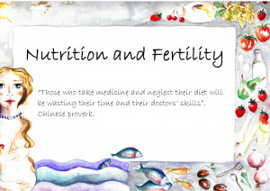 ... Food Day, we'd like to explain the nutritional aspects of fertility