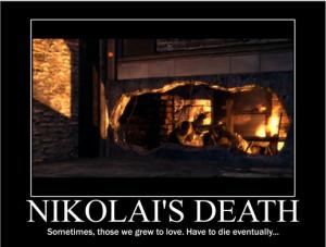 Death of Nikolai by spyash2