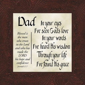 Related to Free Christian Fathers Day Verses Quotes Sayings Father
