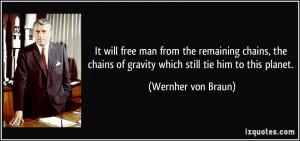 More Wernher von Braun Quotes