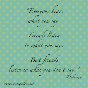 Back > Quotes For > Meaningful Quotes About Friendship